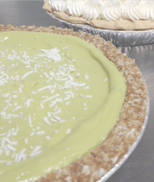 Gluten & Sugar Free Avocado Key Lime Pie